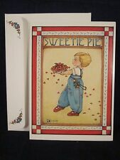 "Mary Engelbreit Sweetie Pie Birthday Card 5"" x 7"" 1983 Vintage ~ Rare ~ New"