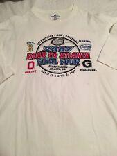 2007 RUSSELL ATHLETICS  NCAA  ROAD TO ATLANTA  TSHIRT MENS SZ 3XL FINAL FOUR-VGC
