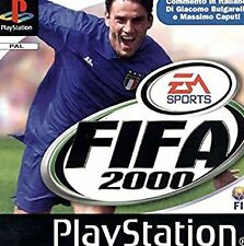 FIFA 2000 PS1 PSONE LIBRETTO  PAL VERSION SCANSIONE PDF ITA /BOOKLET SCANSION