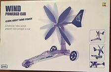 Educational Science Experiment Kit - Wind Powered Car - Learn About Wind Power