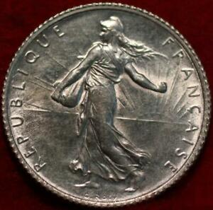 1916 France 1 Franc Silver Foreign Coin
