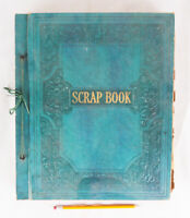 Vintage Scrapbook Filled with 206 Greeting Cards, All Occasions, 1936-1944