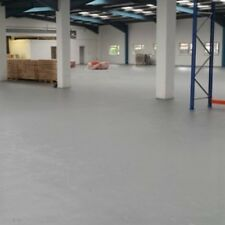 2 Pack Epoxy Resin Concrete Garage Warehouse Floor Paint Coating Light Grey 5L