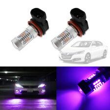 Pink Purple H11/H8 LED Fog Driving Lights DRL Bulbs For 2006-2015 Honda Accord