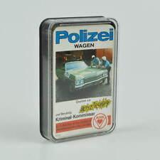 Polizei Wagen - Quartett - altes Kartenspiel - Blitz-Trumpf - ASS 3220 - 1971