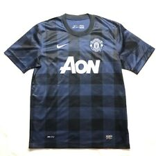 MANCHESTER UNITED 2013/2014 AWAY FOOTBALL SHIRT SOCCER JERSEY MAGLIA NIKE LARGE