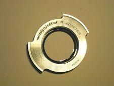 adapter P 42 mm à vis pour objectif lens MAMIYA/SEKOR photo photographie