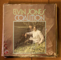 Elvin Jones Coalition LP Liberty Blue Note in Shrink NM- super clean