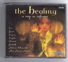(HA163) Various Artists, The Healing - A Trip To Infinity - 1999 Double CD