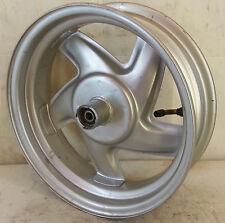 CERCHIO SCOOTER posteriore 12X3.50 acciaio argento