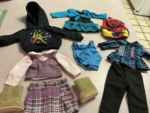 "DOLL CLOTHES - FITS AMERICAN GIRL AND MOST 18"" DOLLS Outfits Plus Shoes"