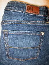 Bullhead Huntington Flare Stretch Womens Juniors Dark Jeans Size 1 S x 29