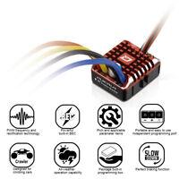 Hobbywing QuicRun 1080 Waterproof Brushed 80A ESC + Program Card  Crawler X