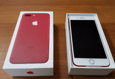 MINT Verizon Apple iPhone 7 Plus 128GB Smartphone RED w/2 chargers & headphones