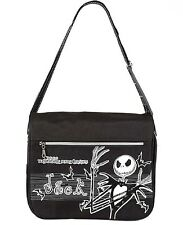 The Nightmare Before Christmas Shoulder or Messenger Bag Jack Skellington NBC