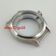 47mm Stainless steel case fit Seagull st25 Series movement parnis watch P604
