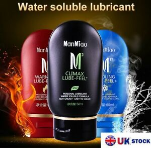 Sex Lube Lubricant Water Based Gel Anal Vaginal Play Massage cooling warming