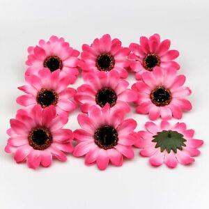 7cm Sun flower Fake Artificial Silk Floral Flower Heads Wedding DIY Bouquet