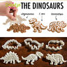 3PCS Dinosaur Shaped Cookie Cutter Biscuit Pastry Fondant Cake Decor Molud Tool