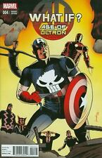 What If Comic 4 Age Of Ultron Cover B Variant JIm Rugg First Print 2014 Marvel