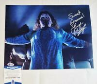 LINDA BLAIR REGAN SIGNED 11X14 PHOTO THE EXORCIST BECKETT COA 486
