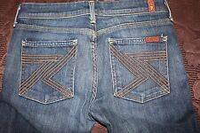 Women's Seven 7 for all Mankind Blue Bootcut Jeans Size 27