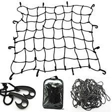 Elastic Bungee Car Roof Cargo Luggage Nets Rack Basket Mesh Net Secure 12 Hooks