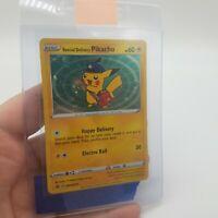 Pokemon Special Delivery Pikachu SWSH074 Promo Card