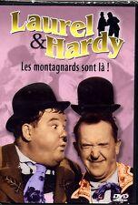 DVD - LES MONTAGNARDS SONT LA  - Laurel & Hardy