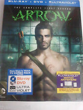 Arrow - Primera Temporada Blu-ray + DVD - First Season - DC Comics - Castellano