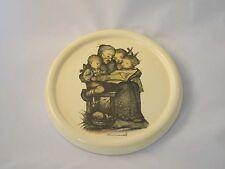 Vintage Glazed Chalkware Plaster Plaque. Berta Hummel Picture Luray Caverns Va