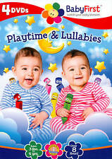 Baby First - Playtime and Lullabies - 4 NEW DVD FREE SHIPPING!!