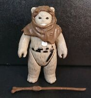 Vintage Star Wars Return Of The Jedi Chief Chirpa 1983 Kenner NO COO - Complete