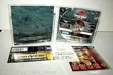 THE LOST WORLD JURASSIC PARK GIOCO USATO OTTIMO STATO SEGA SATURN ED JAPAN MG1