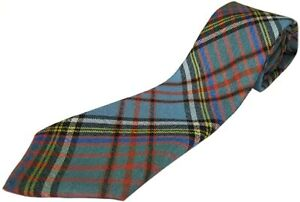Gents Pure Wool Anderson Ancient Tartan Tie - MADE IN SCOTLAND