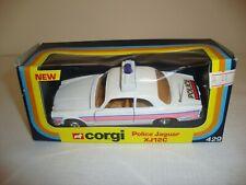 CORGI 429 POLICE JAGUAR XJ12C (4 SPOKE WHEELS) - NR MINT in original BOX