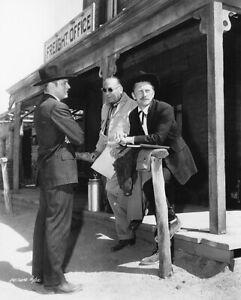 Kirk Douglas, Burt Lancaster, Hal Wallis - Candid -  8 1/2 X 11