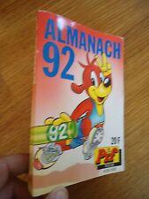 ** PIF POCHE almanach 1992 Hors série **  VAILLANT BD PETITS FORMATS GADGET