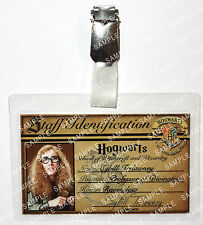 Professor Sybill Trelawney ID Badge Harry Potter Hogwarts Cosplay Prop Comic Con