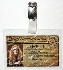 Professor Sybill Trelawney ID Badge Harry Potter Hogwarts Cosplay Prop Christmas