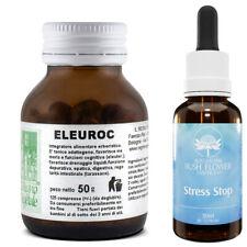 Kit Anti-STRESS Equilibrio PSICO/FISICO/EMOTIVO FIORI AUSTRALIANI+Eleuterococco