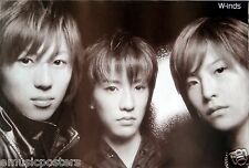 """W-INDS """"BLACK & WHITE GROUP SHOT"""" ASIAN POSTER - Japanese J-Pop Music Boy Band"""