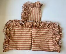 3 RALPH LAUREN Shams 2 European & 1 Smaller Square Sham