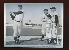 1962 Safe at Home 8 X 10 Publicity Photo Mickey Mantle & Roger Maris Yankees