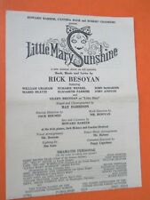 1959-60 - Orpheum Theatre Program - Little Mary Sunshine - Eileen Brennan