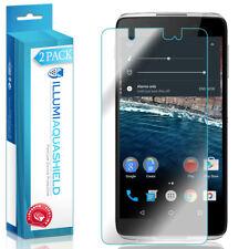 2x iLlumi AquaShield Clear Screen Protector Cover for Alcatel Idol 4