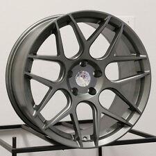 17x7.5 Aodhan LS2 LS002 5x112/5x120 35 Matte Gun Metal Wheel New set(4)