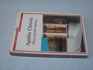 (Agatha Christie) Dieci piccoli indiani 1988 Mondadori oscar classici