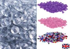 1000 Colour Acrylic Wedding Confetti Decoration Scatter Table Crystals Diamond