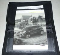 2017 FORD ESCAPE OWNERS MANUAL SET KIT guide 17 w/case S SE TITANIUM